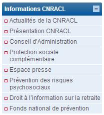 Accédez aux services en ligne de la CNRACL